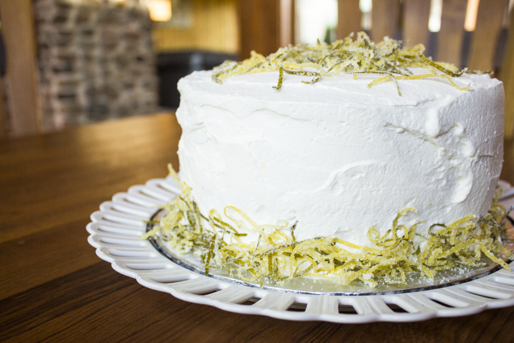 Lemon Birthday Cake | Czech in the Kitchen