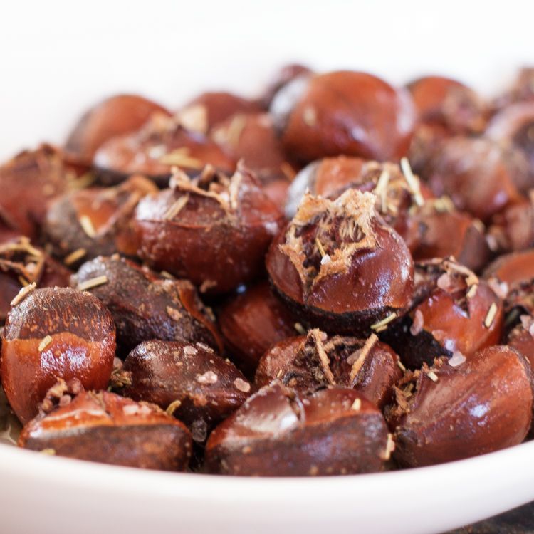 Rosemary, Nutmeg and Butter Roasted Chestnuts | Czech in the Kitchen